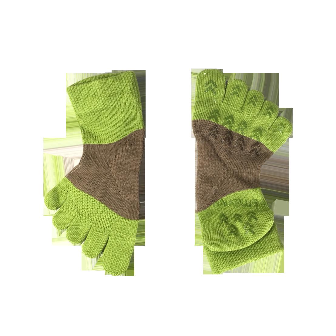 健將五趾襪2代(綠)
