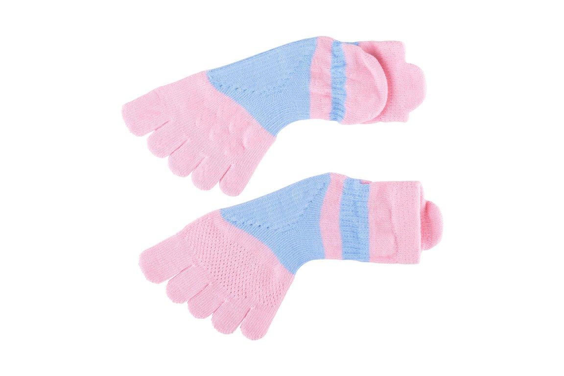 健將五趾襪(粉紅)