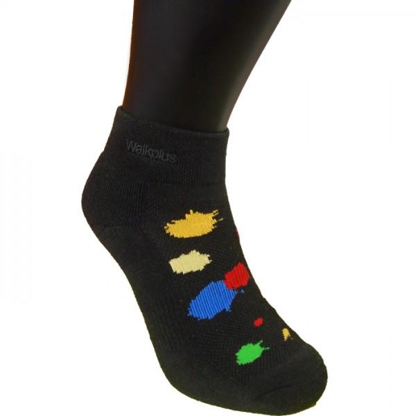 奈米醋酸銀運動短襪(彩跑款)