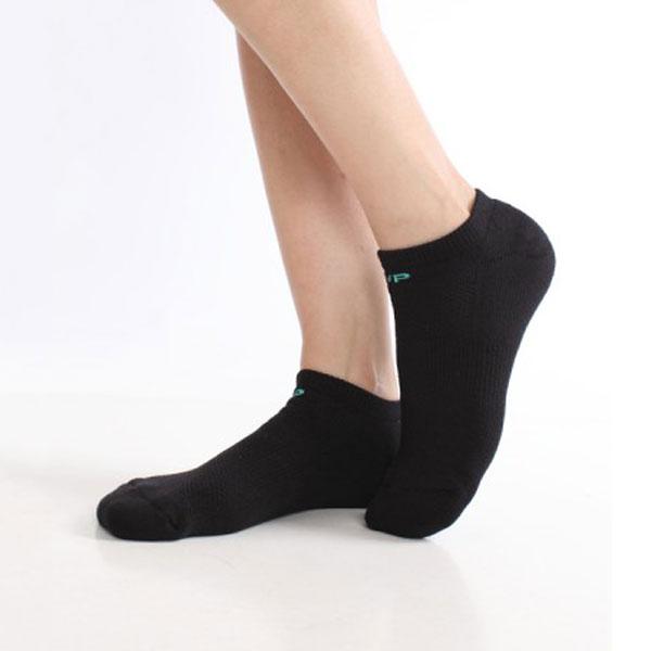 全竹炭運動船型襪